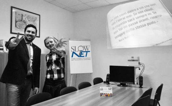 Stefano Vallerini Galan ed Elisa Amaducci - Slow Net